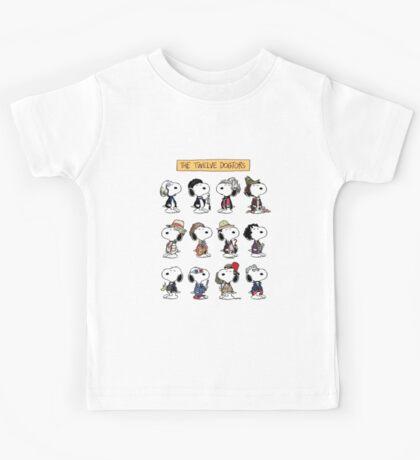 The Twelve Dogtors Kids Tee