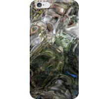 Reflections of Green, Pink and Blue iPhone Case/Skin