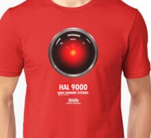 2001: A SPACE ODYSSEY (HAL 9000) Unisex T-Shirt