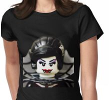 Lego Spider Lady minifigure Womens Fitted T-Shirt