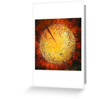 String Theory Zen by Phyllis Moser Greeting Card