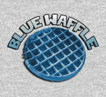 Blue waffle by howardhbaugh