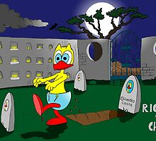 "Rick the chick ""ZOMBIE"" by CLAUDIO COSTA"