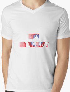 On your Left Mens V-Neck T-Shirt