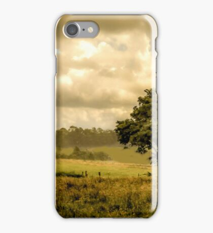 GREEN AND PLEASANT LAND iPhone Case/Skin