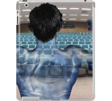 Water Muscle Man Rehearsing for Worship iPad Case/Skin