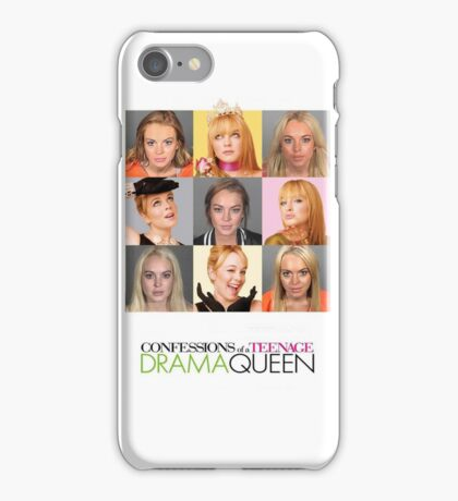 confessions of a teenage drug addict iPhone Case/Skin