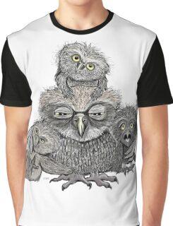 Owl mom Graphic T-Shirt