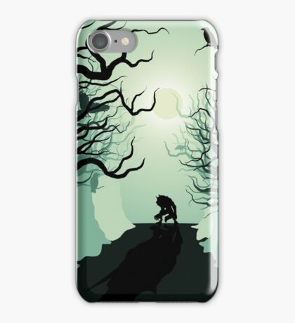 Crows and the Werewolf iPhone Case/Skin