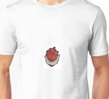Heart in mouth Unisex T-Shirt