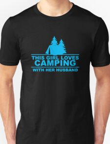 This Girl Loves Camping With Her Husband Unisex T-Shirt