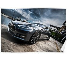 Beauty of Tesla S Poster