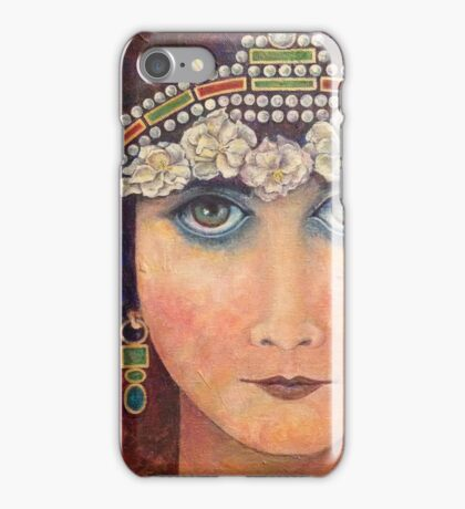 Theda/Theodora by Phyllis Moser iPhone Case/Skin