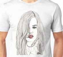 Georgia with Red Lips Unisex T-Shirt