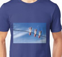 Three of us...in the sky! Unisex T-Shirt