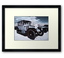 Vintage Car - InfraRed Framed Print