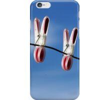 Three of us...in the sky! iPhone Case/Skin