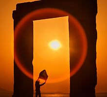 Gate of the Winds - Portara, Naxos island by Hercules Milas