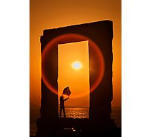 Gate of the Winds - Portara, Naxos island Photographic Print