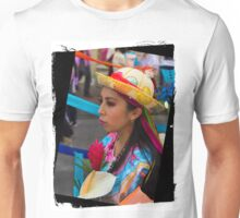 Dancer In The Pase Del Nino Parade VI Unisex T-Shirt