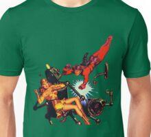 1950s Scifi Robot Design Unisex T-Shirt