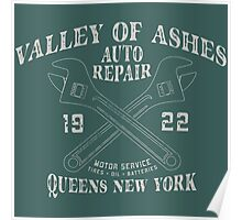 Valley of Ashes Auto Repair Poster
