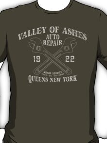 Valley of Ashes Auto Repair T-Shirt