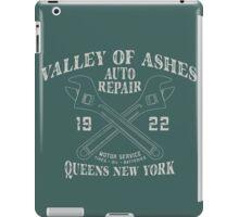 Valley of Ashes Auto Repair iPad Case/Skin