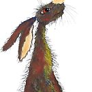 BRIGHT HARE h3111 by Hares & Critters