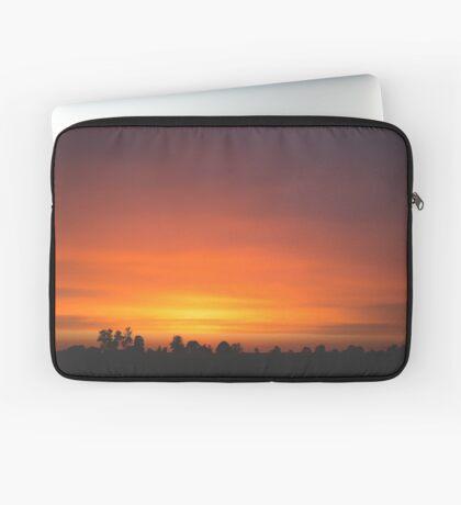 Late Sunset Laptop Sleeve