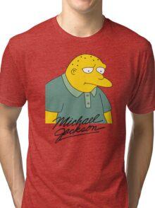 Leon Kompowsky – Simpsons, Stark Raving Dad Tri-blend T-Shirt