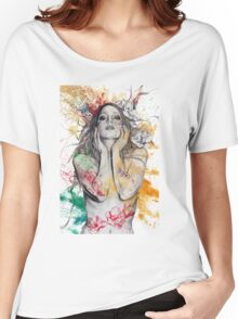 The Withering Spring Women's Relaxed Fit T-Shirt