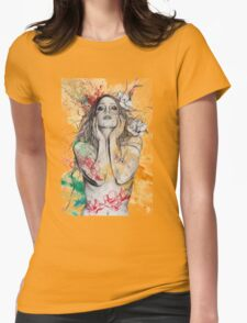 The Withering Spring Womens Fitted T-Shirt
