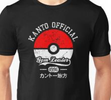Kanto official - Gym leader Unisex T-Shirt