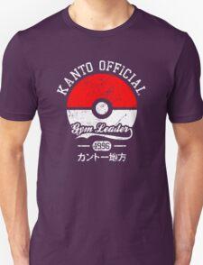 Kanto official - Gym leader Unisex T-Shirt