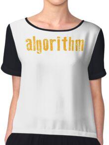 Programmer - Algorithm Chiffon Top