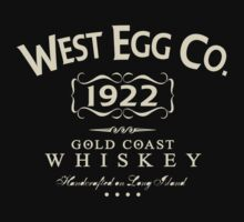 West Egg Whiskey by LicensedThreads