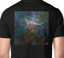 Mystic Mountain, Hubble, NASA, Stars, Cosmos, Cosmic, Space, Telescope, Astronomy Unisex T-Shirt