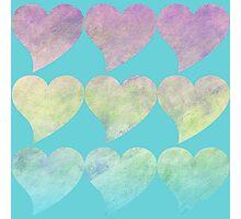Retro Love Photographic Print