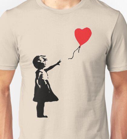 heart shaped balloon Unisex T-Shirt