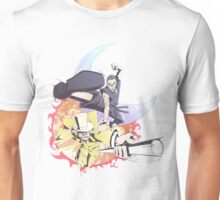 Dayman v Nightman Unisex T-Shirt