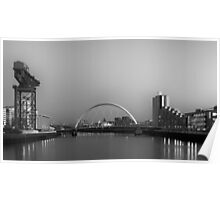 River Clyde View Poster