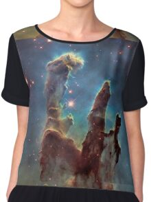 HUBBLE, NASA, Telescope, Pillars of Creation, Stars, Space, Cosmos, Cosmic, Eagle Nebula Chiffon Top