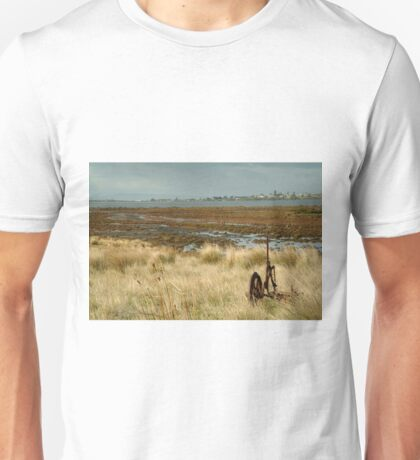 Joe Mortelliti Gallery - Beacon Point view to Queenscliff, Bellarine Peninsula, Victoria, Australia. Unisex T-Shirt
