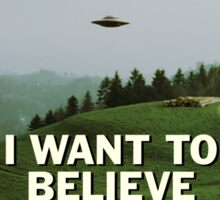 I Want to Believe, X Files Sticker