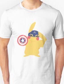 Captain Ameri-chu Unisex T-Shirt