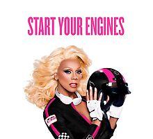 START YOUR ENGINES by seashellbikini