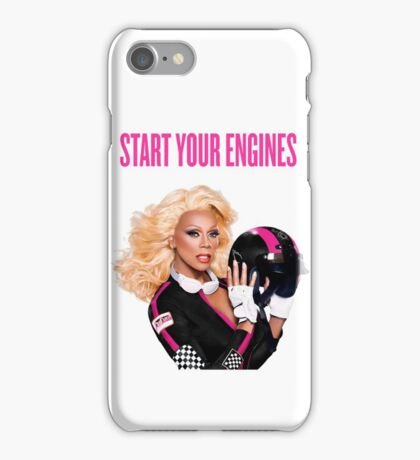START YOUR ENGINES iPhone Case/Skin