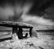 Ancient Cornwall : Lanyon Quiot by Angie Latham
