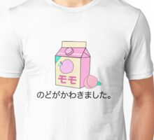 Vaporwave Japanese Peach Unisex T-Shirt